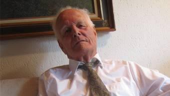 Rolf Sigg setzt sich auch mit 95 Jahren noch vehement für dieSterbehilfeorganisation Exit ein. Tanja Bangerter