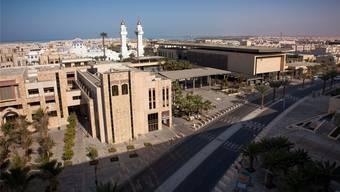 Pompös: Die King Abdullah University of Science and Technology zieht Forscher aus der ganzen Welt an.HO