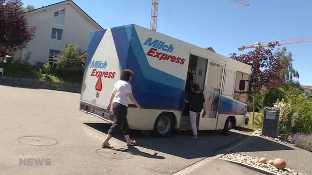Nach 30 Jahren: Letzte Fahrt für Milchexpress in Lyss