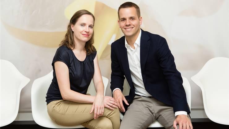 Martina und Christoph Landolt.