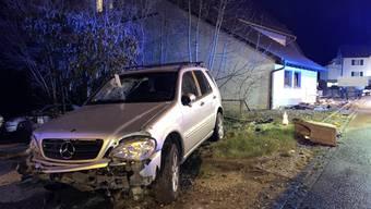 Angetrunkener baut Unfall in Wittnau