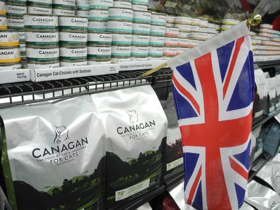 Nach dem Umzug des Pet-Shops soll es im Geschäft mehrheitlich Ware aus England zu kaufen geben, in welcher mindestens 70 Prozent «richtiges» Fleisch drinsteckt.