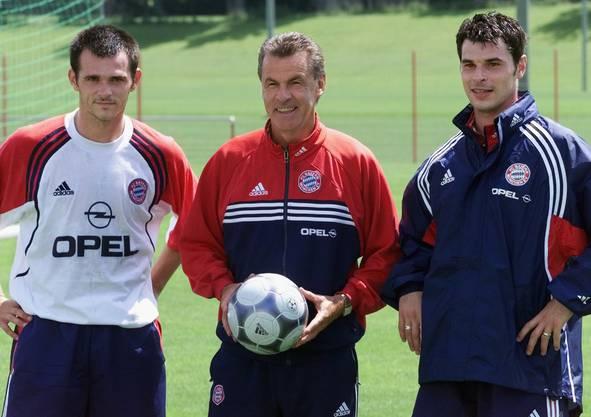 Bei Bayern durfte Ciriaco Sforza dann auch unter Hitzfeld im Zentrum spielen.