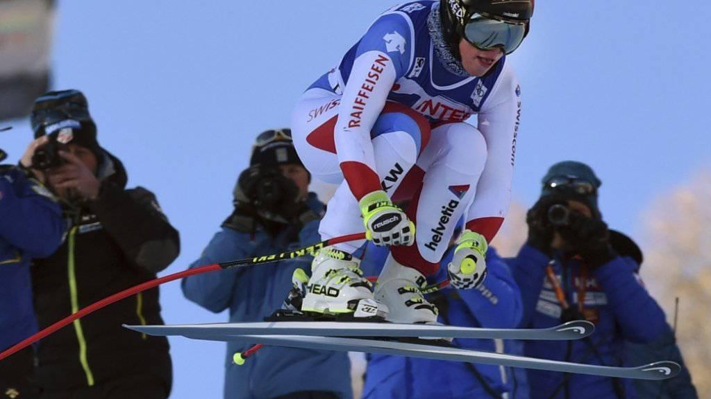 Lara Gut wurde Dritte im zweiten Training zur Weltcup-Abfahrt in Val d'Isère