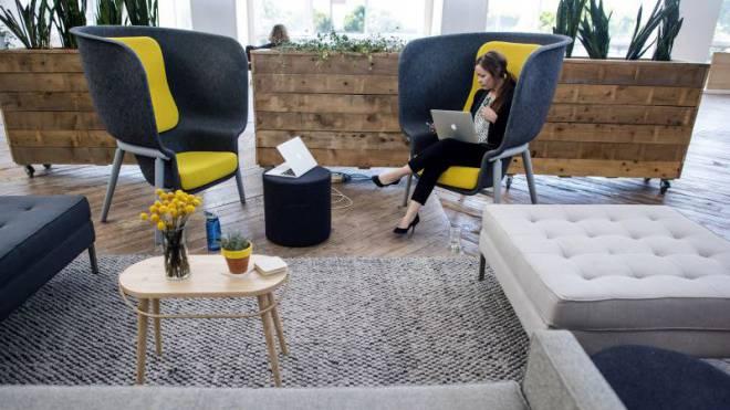 Schon in der Zukunft angelangt: Das Start-up Mod bietet seinen Mitarbeitern in San Francisco sinnlich eingerichtete Büroräume, die zum Verweilen einladen. Foto: Getty Images