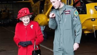 Geht es nach den Briten, wird William der Nachfolger von Queen Elizabeth (Archiv)