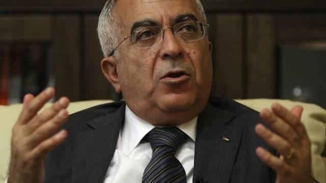 Sein Rücktritt ist nicht im Sinne der USA: Palästinensischer Ministerpräsident Salam Fajad (Archiv)