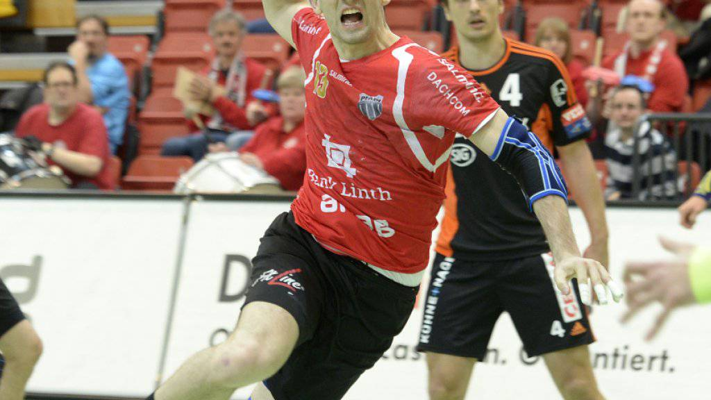 Der Winterthurer Filip Gavranovic war beim 27:26-Heimsieg gegen St. Otmar St. Gallen der erfolgreichste Torschütze in den Reihen von Pfadi