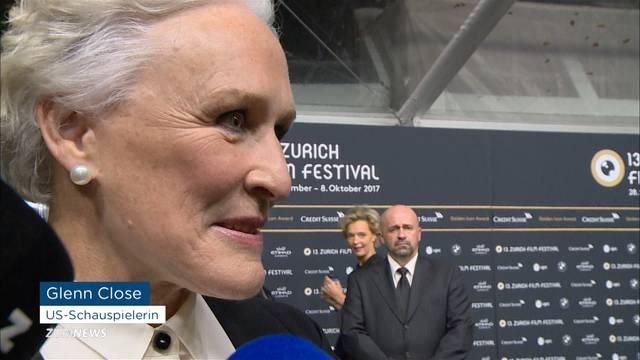 Glenn Close am ZFF ausgezeichnet