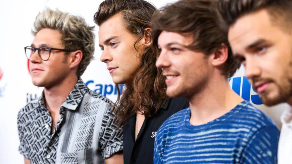 Die britische Boygroup One Direction führt die Top Ten der meistgelesenen Tweets an.
