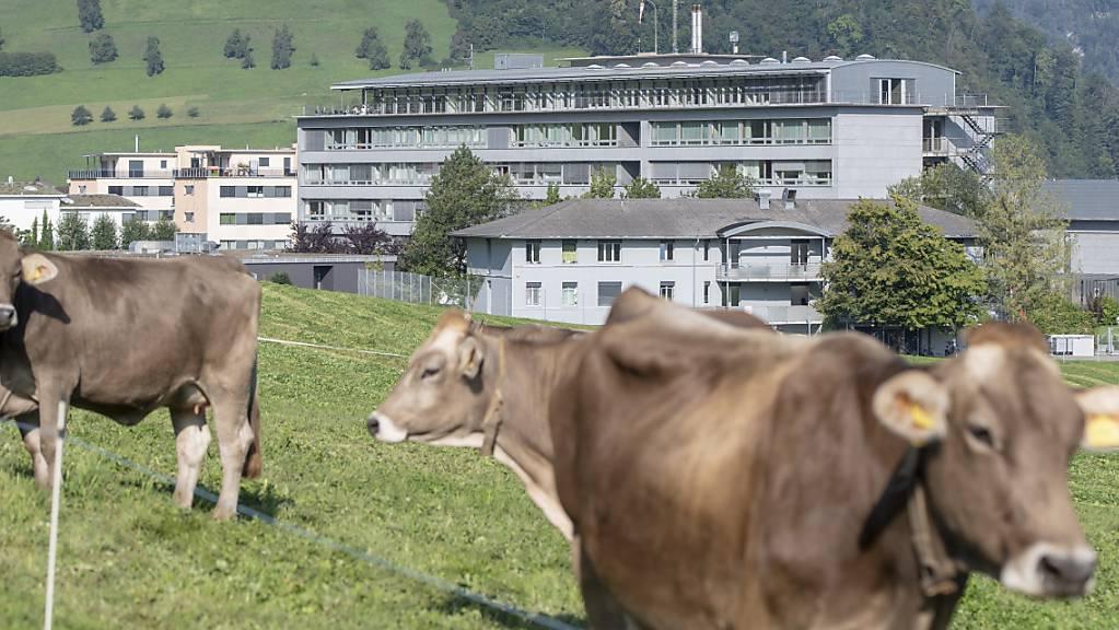 Das Kantonsspital Nidwalden in Stans hat im Covidjahr 2020 einen Gewinn erzielt. (Archivaufnahme)