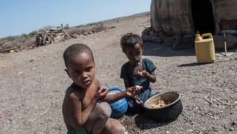 In Äthiopien herrschte 2016 die schlimmste Dürre seit 30 Jahren. Rund zehn Millionen Menschen waren akut auf Nahrungsmittel angewiesen. (Archivbild)