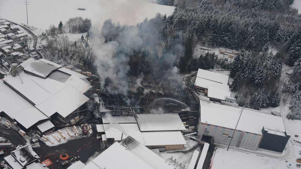 Haltikon: Feuerwehreinsatz bald zu Ende