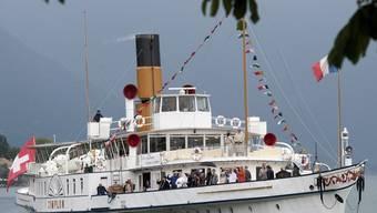 Dampfschifffahrten erfreuen sich grosser Beliebtheit (Archiv)