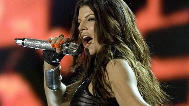 Fergie, Solokünstlerin und Sängerin von den Black Eyed Peas (Archiv)