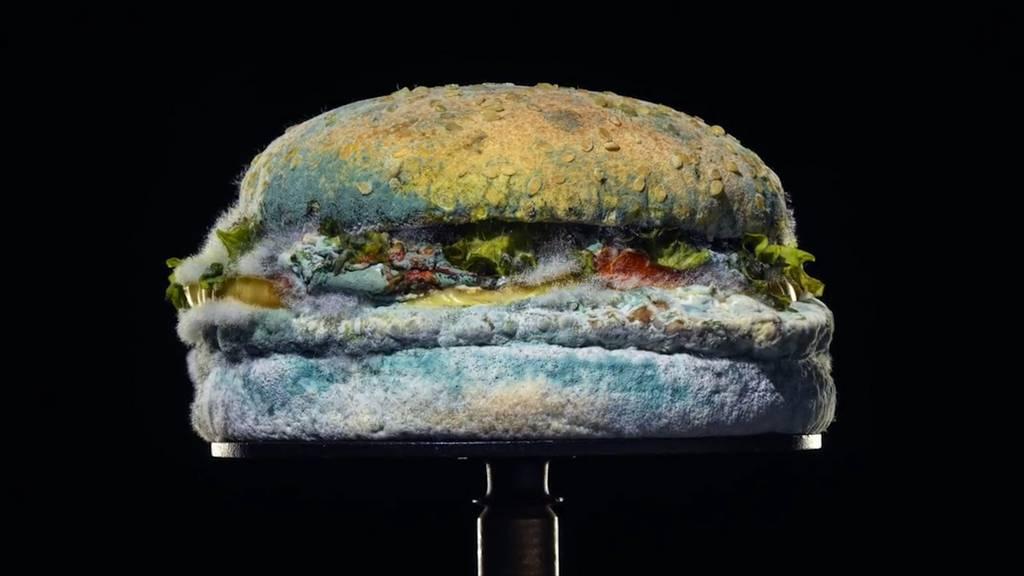 «Burger King» wirbt mit verschimmeltem Whopper