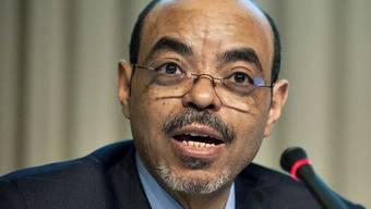 War seit zwei Monaten nicht mehr an der Öffentlichkeit gesehen worden: Äthiopiens Ministerpräsident Meles Zenawi (Archiv)