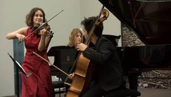 Spielte, als ginge es um ihr Leben: Geigerin Patricia Kopatchinskaja am Lucerne Festival. Priska Ketterer/Lucerne Festival
