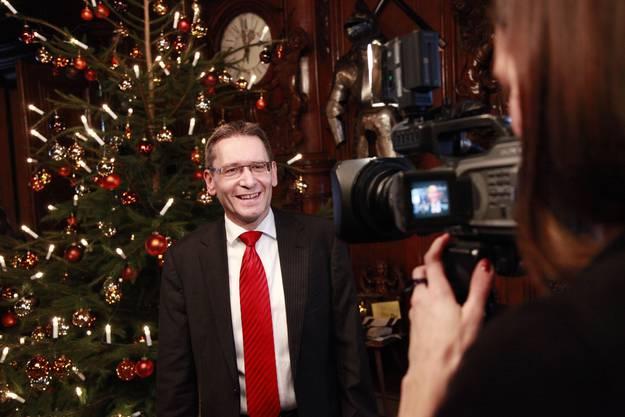Pirmin Bischof schlug auch im zweiten Wahlgang den FDP-Konkurrenten Kurt Fluri