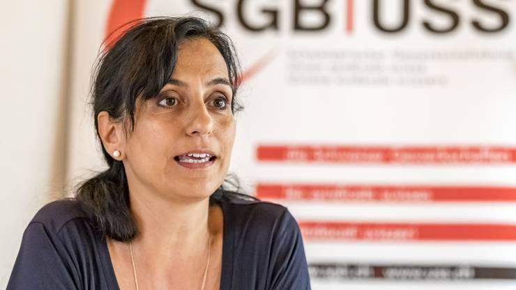 Vania Alleva ist Präsidentin der Gewerkschaft Unia. (Archiv)