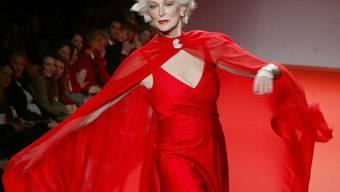 Langzeitmodel Carmen Dell'Orefice steigt in New York mit 81 Jahren auf den Laufsteg (Archiv)