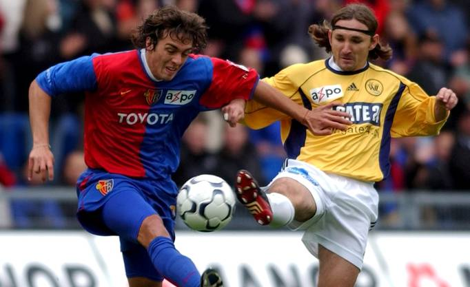 2003 kam Delgado erstmals zum FC Basel.