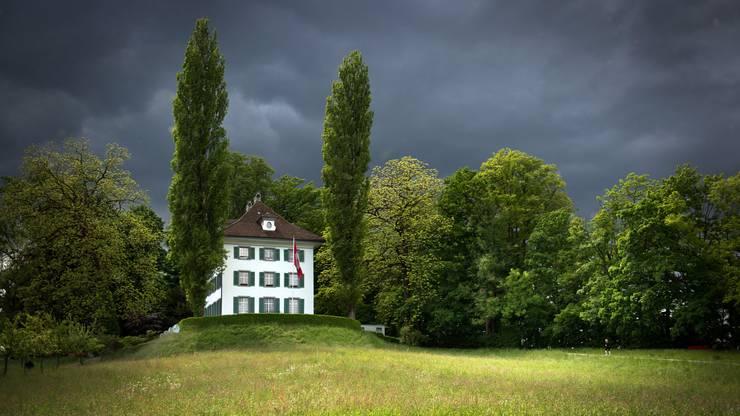 Hier verbrachte Richard Wagner seinen glücklichsten Lebensabschnitt: Herrenhaus auf Tribschen.