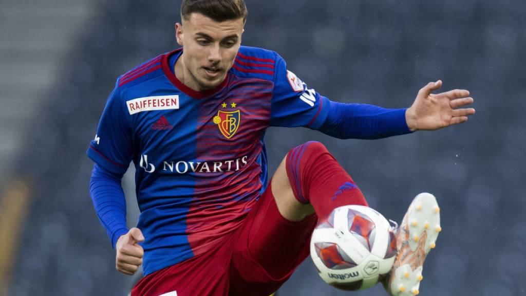 Darian Males in Aktion für den FC Basel