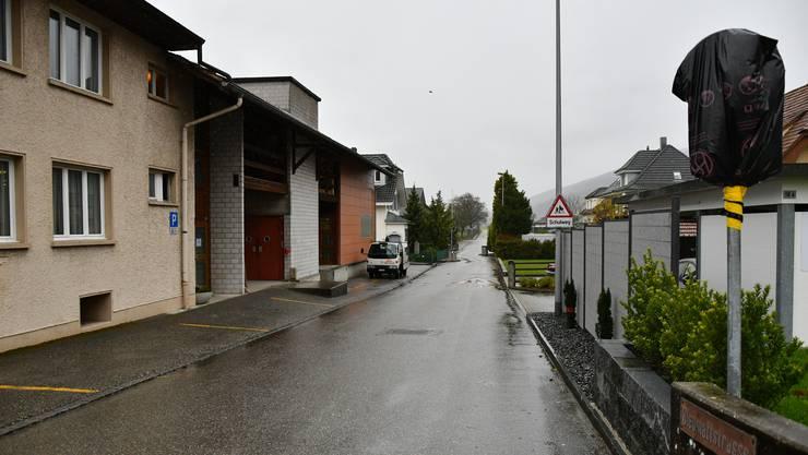 Bald Ist-Zustand: Wegen einer Baustelle in der Gartenstrasse, öffnete die Gemeinde die Bleumattstrasse zuletzt temporär.