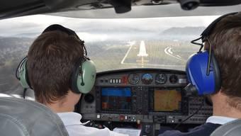 Ausbildungsflug Grenchen