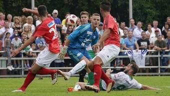 Schweizer Cup: FC Muri - FC St.Gallen (16.09.2018)