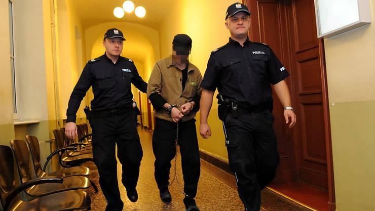Der mutmassliche Täter wurde drei Tage nach der Bluttat an der deutsch-polnischen Grenze verhaftet und später an die Schweiz ausgeliefert. (Archivbild)