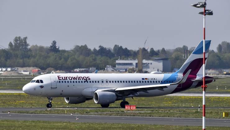Am Samstag musste ein Airbus A 320 zum Startflughafen Düsseldorf zurückfliegen.