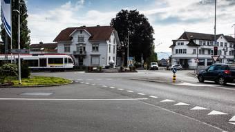 Die Häsigasse, hier in der Verlängerung des «Löwen»-Kreisels, gab an der Gemeindeversammlung in Beinwil am See zu reden.