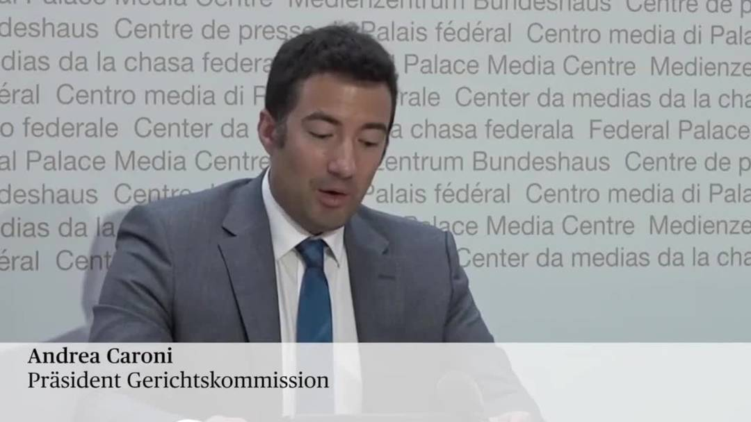 Affäre Lauber - Gerichtskommission leitet Amtsenthebungsverfahren gegen Lauber ein