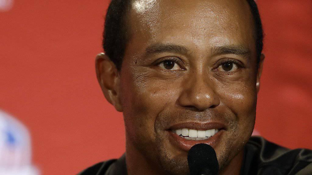 Tiger Woods hat sein früheres Lachen längst wiedergefunden