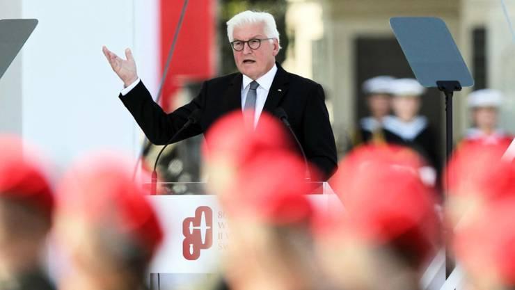 Der deutsche Bundespräsident Frank-Walter Steinmeier hat 80 Jahre nach dem Beginn des Zweiten Weltkriegs die Menschen in Polen um Vergebung für den deutschen Vernichtungskrieg mit Millionen Toten gebeten.