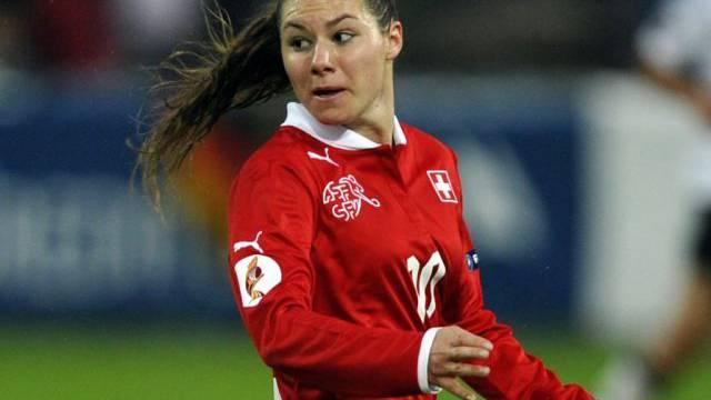 Ramona Bachmann Matchwinnerin für die Schweiz.
