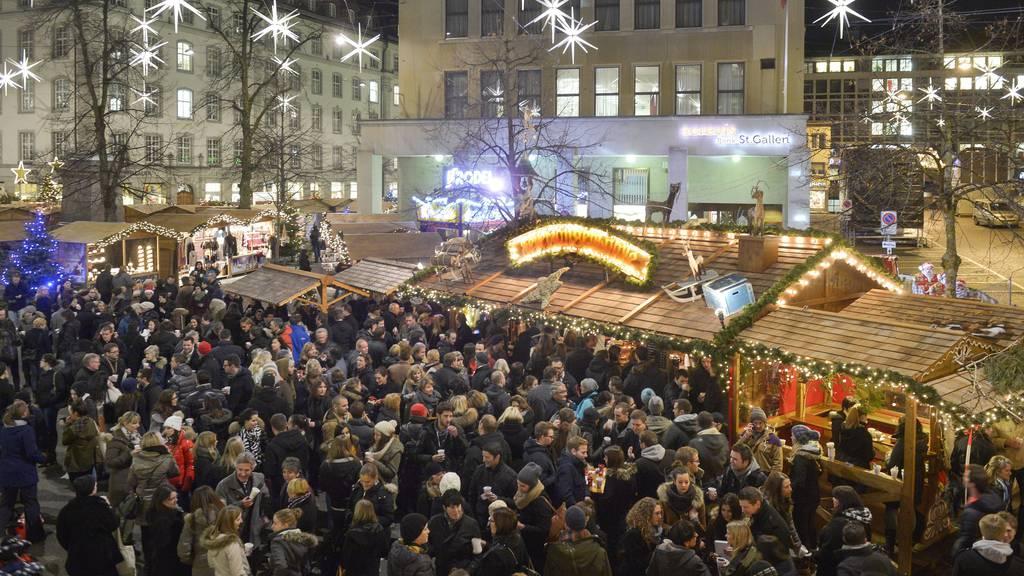 St.Galler Weihnachtsmarkt ist wegen Corona abgesagt