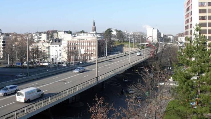 Auf dem Heuwaage-Viadukt waren 40 Autofahrer zu schnell unterwegs.