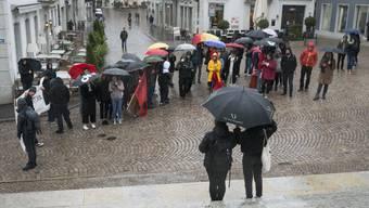 Solidaritätskundgebung der Juso in Solothurn
