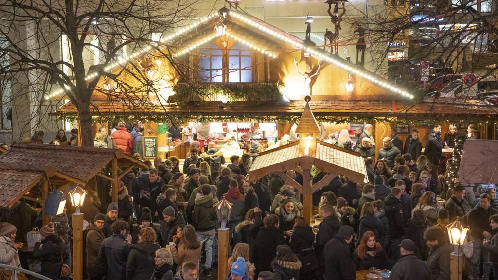 St.Galler Weihnachtsmarkt findet statt – mit Einschränkungen