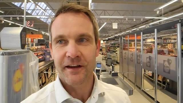 Thomas Bätzold, Leiter Immobilien bei Lidl: «Wir haben hier einen wunderschönen Standort»