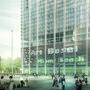 Die Messe plant einen rund 100 Meter hohen Ersatzbau für ihr sanierungsbedürftiges Parkhaus.  (Buchner Bründler)