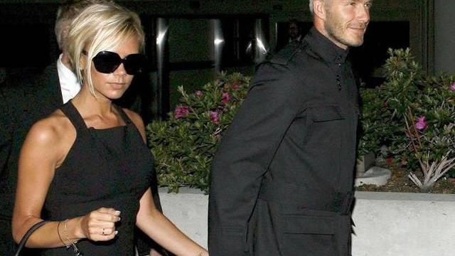 Victoria Beckham sagt, ihr Mann sehe beim Aufstehen schrecklich aus