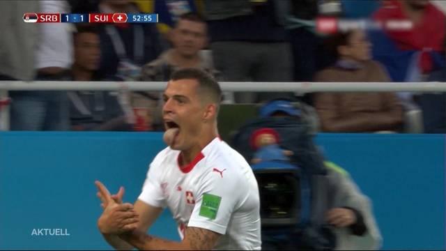 Eigentor? Fifa ermittelt wegen Schweizer Doppeladler-Jubel