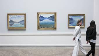 Das Kunstmuseum Bern blickt in seiner neuen Ausstellung aus ungewohnter Perspektive auf das Werk des Schweizer Malers Ferdinand Hodler.