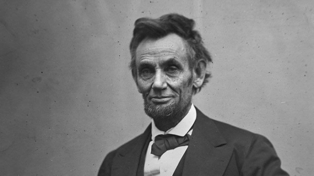 Abraham Lincoln in einer Aufnahme vom Februar 1865