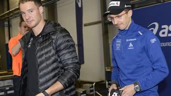 Dario Cologna und Simon Ammann stehen am gleichen Wochenende auf Schweizer Boden im Einsatz (Archivaufnahme)