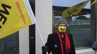 Seit neun Jahren steht jede Woche von Montag bis Donnerstag eine Gruppe Menschen vor dem Eidgenössischen Nuklearsicherheitsinspektorat (Ensi).